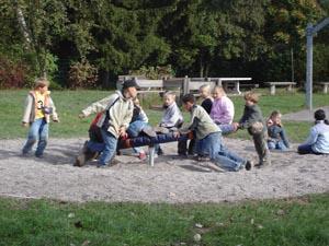 Schulhof Lautenbergschule, Drehring