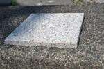 Neuer Stein am Dianabrunnen